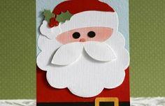 einfache-weihnachtskarten-basteln-weihnachtsmann