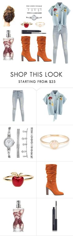 """""""Casual"""" by geopum ❤ liked on Polyvore featuring Anne Klein, Alison Lou, Donald J Pliner and Jean-Paul Gaultier"""