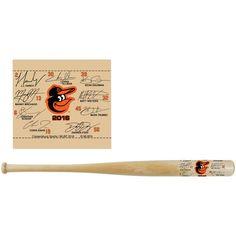 Baltimore Orioles Mini Signature Bat - Natural - $9.99