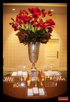 Boston Wedding Photography, Boston Event Photography, Winston Flowers, Wedding Flowers, Escort Card Table Centerpiece, Large Floral Centerpiece