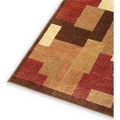 Country Living woven area rug. #Kmart #home