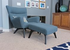 Boden Chair from Room and Board via tealandlime.com