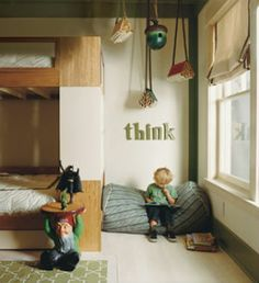 children's reading nook ideas | Pinspiration – Nooks and Crannies | The Children's Department