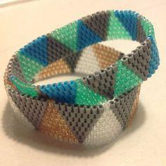 Hama perler bead bracelet by braarup