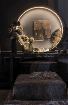 Home Decoration Living Room Boho Interior, Dark Interiors, Moody Interiors, Apartment Decor, Elle Decor, Stunning Interiors, Entryway Decor Small, Colorful Interiors, Home Decor