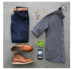Stitch Fix Men September 2016 - casual men's look, looks great with the belt and shoes added
