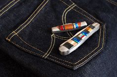Self Edge Haught Inlaid Pocket-Knives, these are awesome!