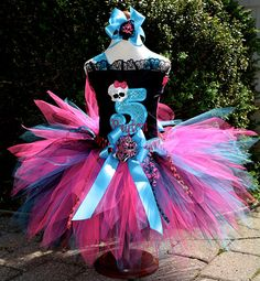 Monster High Tutu Dress FABULOUS customer reviews by PoshPinkTutus