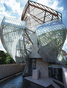 Fondation Louis Vuitton, Paris - Gehry Partners - Photo Todd Eberle