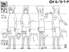 They posted Sasuke at different stages - as a christmas present :) The same for Naruto on his birthday. Naruto Sketch, Naruto Drawings, Naruto Art, Anime Naruto, Naruto Shippuden Sasuke, Shikamaru, Naruto Kakashi, Hinata, Mascaras Anbu
