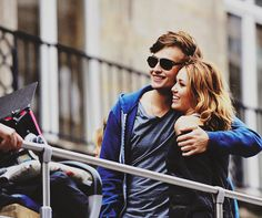 miley cyrus & douglas booth