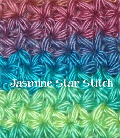 Part I: https://youtu.be/ws6qNgTcUjo Part II: https://youtu.be/YLxGcpPrkS4 How to Crochet a Jasmine Star: *Chain 1, yarn over pull up your yarn, insert hook ...