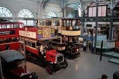 El Museo del Transporte en Londres