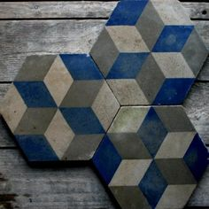 Reclaimed Encaustic Civis Tiles