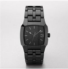 Diesel Quartz Black Link Band Black Dial Women's Watch - DZ1422 --- http://www.pinterest.com.itshot.me/3ja