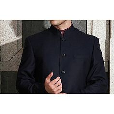 Men's Stand Collar Vintage Chinese Tunic Suit