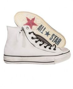 7793768fc1a Converse By John Varvatos - Chuck Taylor Double Zip Hi (White). EXCLUSIVE  DNA · Sneakers - April 2013