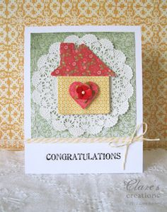 perfect congrats on new home card
