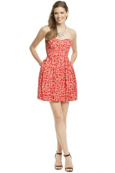 Megan Dress by Shoshanna. perfect for my summer wedding coming up!