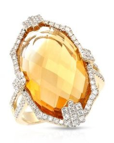 14k Yellow Gold Michael Christoff Diamond & Citrine New Ring 15.19ctw 8.5g Sz 6.. Get the lowest price on 14k Yellow Gold Michael Christoff Diamond & Citrine New Ring 15.19ctw 8.5g Sz 6. and other fabulous designer clothing and accessories! Shop Tradesy now