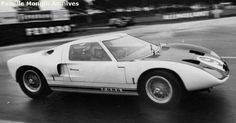 9 - Ford GT40 #GT/101 - Ford Advanced Vehicles Le Mans Test 1964