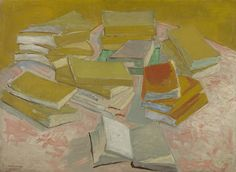 Vincent van Gogh, Piles of French Novels, 1887. This still life is an ode to modern French literature. Van Gogh was an avid reader and an admirer of novelists such as the Goncourt brothers and Emile Zola. They offered a realistic, unvarnished perspective on modern life.