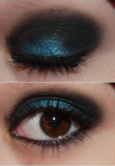 kat von D's speed blue and leather