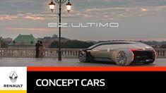 Renault   EZ-ULTIMO Concept (se pronuncia «EASY ULTIMO») - 2019-  «Vehículo robotizado» autónomo, conectado y 100 % eléctrico. Este vehículo de lujo ofrece a sus ocupantes una experiencia de movilidad premium totalmente novedosa. Es como viajar dentro de una exclusiva envoltura, en la que hasta tres pasajeros pueden disfrutar de la ciudad sin ser vistos desde el exterior. En su interior podrán sentirse como en casa y observar el cielo a través del techo panorámico de cristal o por la ventanilla.