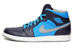 Jordan Mens 1 Phat Obsidian Stealth Blue 364770-405 14