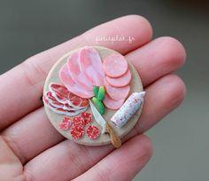 Miniature charcuterie plate by Petit Plat