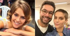 Isabella Santoni raspa a cabeça para viver jovem com leucemia