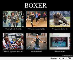 Boxing.. totally Jaime haha