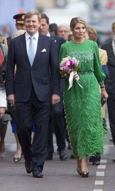 Dutch King Willem-Alexander and Queen Maxima attend the Freedom Concert on 05.05.14 in Amsterdam, Netherlands.