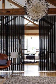 Schiebbare Trennwand-Deckenschiene-ästhetische Ergänzung für Wohnzimmer