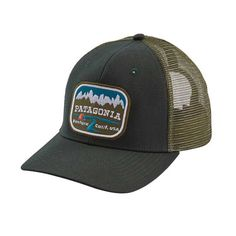 Patagonia Pointed West Trucker Hat in Carbon