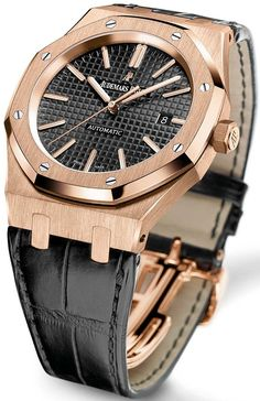 Audemars Piguet Royal Oak pink gold ref: 15400OR.OO.D002CR.01