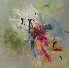 Acrylic On Canvas 30 by 30 Artist Leslie Newman