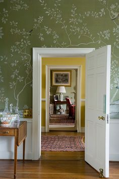 I really like the use of colour and the framing through the doorways - from Todhunter Earle