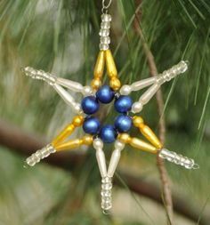 2D Star – How to Make Glass Christmas Ornaments