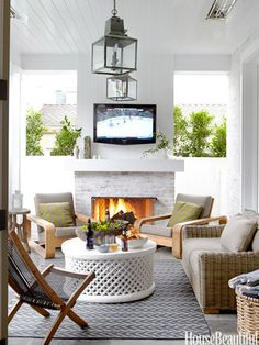 10 easy outdoor decorating ideas | HouseBeautiful.com