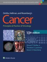 Devita, Hellman, and Rosenberg's cancer : principles & practice of oncology / editors, Vincent T. DeVita, Jr., Theodore S. Lawrence, Steven A. Rosenberg ; with 404 contributing authors  Topogràfic: BE 616-006.6 CAN  #novetatsCRAIUBMedicina