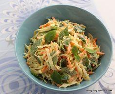 A Minty Coleslaw Coleslaw, Cauliflower, Cabbage, Friday, Vegetables, Food, Coleslaw Salad, Cauliflowers, Essen