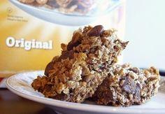 Chewy Whole-Grain Chocolate Chip Granola Bars
