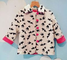 Check out this item in my Etsy shop https://www.etsy.com/uk/listing/519020425/birds-are-dancing-jacket