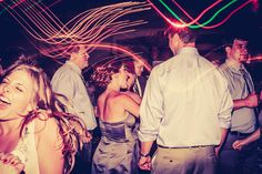 Chevy Chase Country Club | Light Painting Wedding Photography | Chicago Wedding Photography | Pabst Photo
