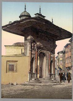 Kapalıçarşı (1890lı yıllar) Osmanli / Ottoman GRANDBAZAAR ...