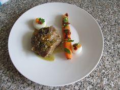 Gino D'Aquino /  Blanquette  de  veau carotte  oignon .Gino D'Aquino