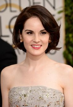Michelle Dockery. I am obsessed with her hair.