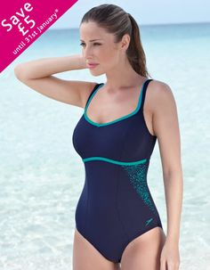 0c651c79b74d5 Premier Water Droplet Swimsuit by Speedo in Navy/Mystic Swimsuit available  in sizes 34-