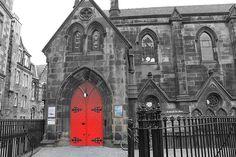 Church on the Royal Mile, Edinburgh